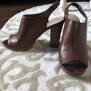 Open back/Peep Toe Heels